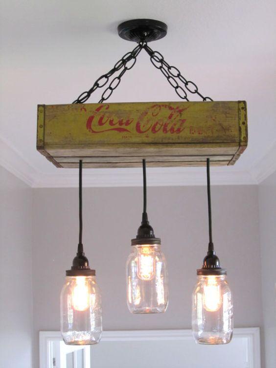 Créer une lampe avec une caisse en bois