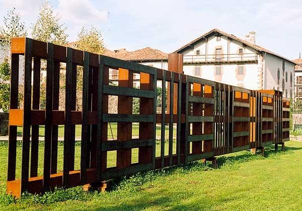 Construire une cloture en bois de palette! 20 exemples inspirants ...