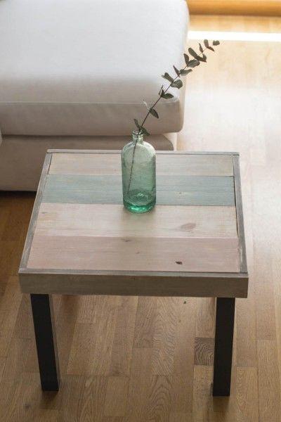 Relooker une table LACK de chez IKEA