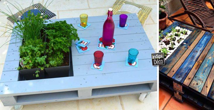 table-basse-diy-pallet-avec-jardiniere-integre
