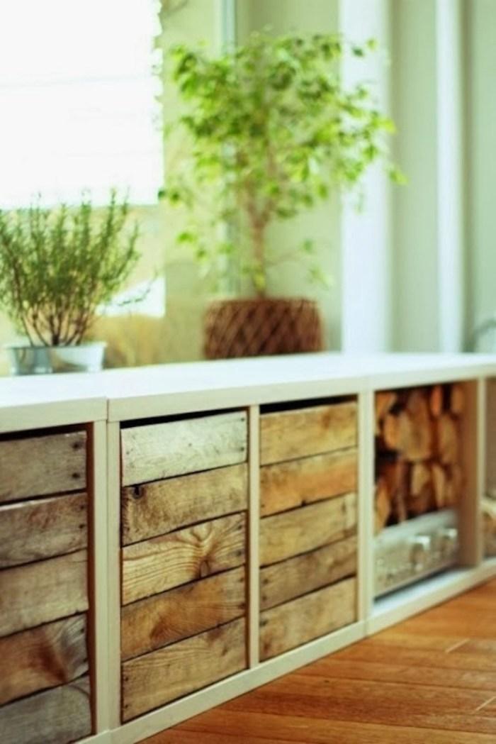Populaire Relooker un meuble IKEA avec des palettes! 20 exemples inspirants DK64