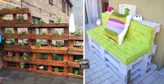 palettes pour le jardin 20 id es inspirantes laissez vous inspirer. Black Bedroom Furniture Sets. Home Design Ideas
