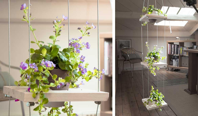 des plantes suspendues pour d corer votre int rieur 20 id es inspirantes. Black Bedroom Furniture Sets. Home Design Ideas