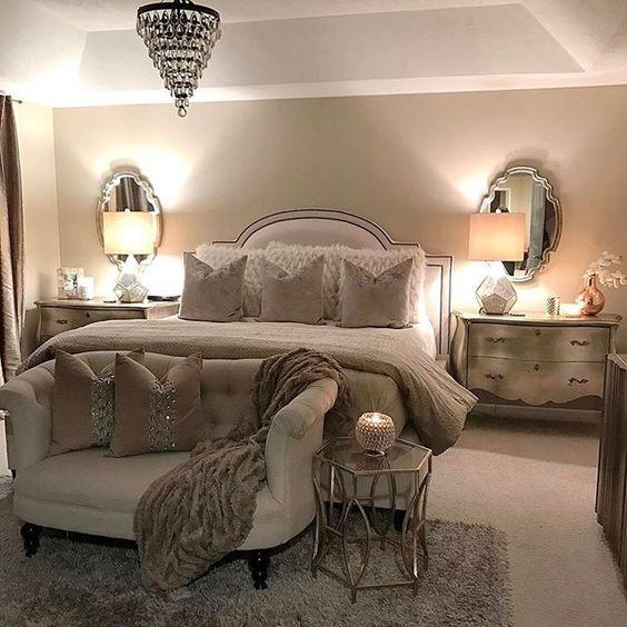 D corer votre pied de lit 20 id es pour vous inspirer for Main bedroom colour ideas