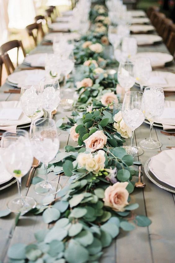 Favoloso Tabelle di Deco del matrimonio con le rose! 20 idee per ispirarvi UU83