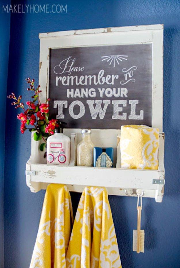 déco DIY pour la salle de bain