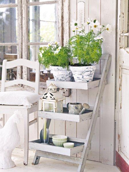 Décorer le jardin en style Shabby Chic