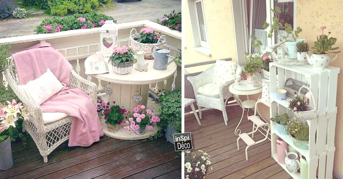 d corer le jardin en style shabby chic 20 id es pour vous. Black Bedroom Furniture Sets. Home Design Ideas