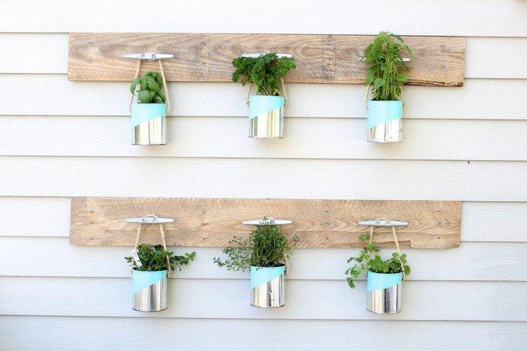 créer un angle herbes aromatiques original