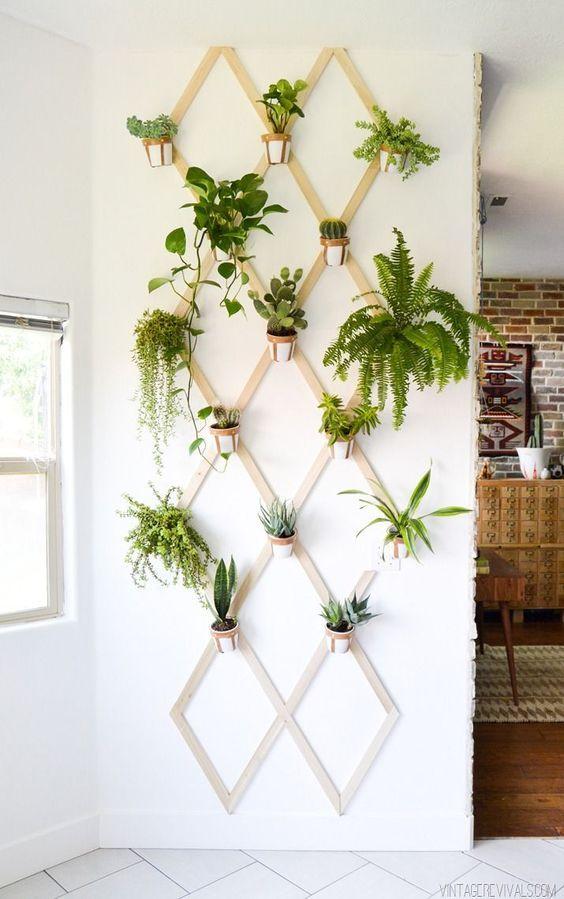 D corer son int rieur avec des plantes 20 id es surprenantes - Decorer terras avec plantes ...
