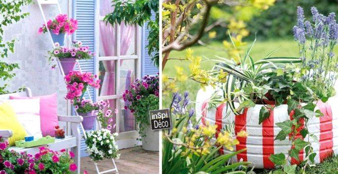 diy 16 ides trs sympa pour dcorer son jardin laissez vous inspirer - Decorer Son Jardin