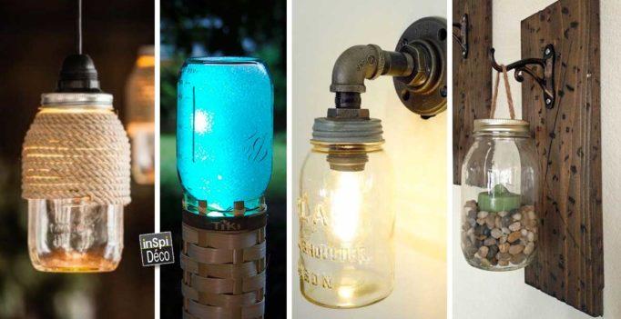 lampe-diy-avec-bocaux-en-verre