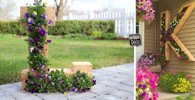 lettre-en-bois-deco-fleurs