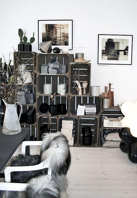 Des Cagettes En Bois 20 Idées Pour Réussir Son Meuble Design