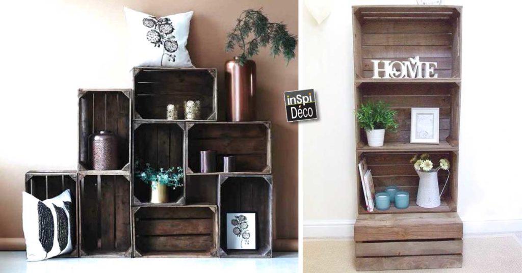 Des Cagettes En Bois 20 Idees Pour Reussir Son Meuble Design