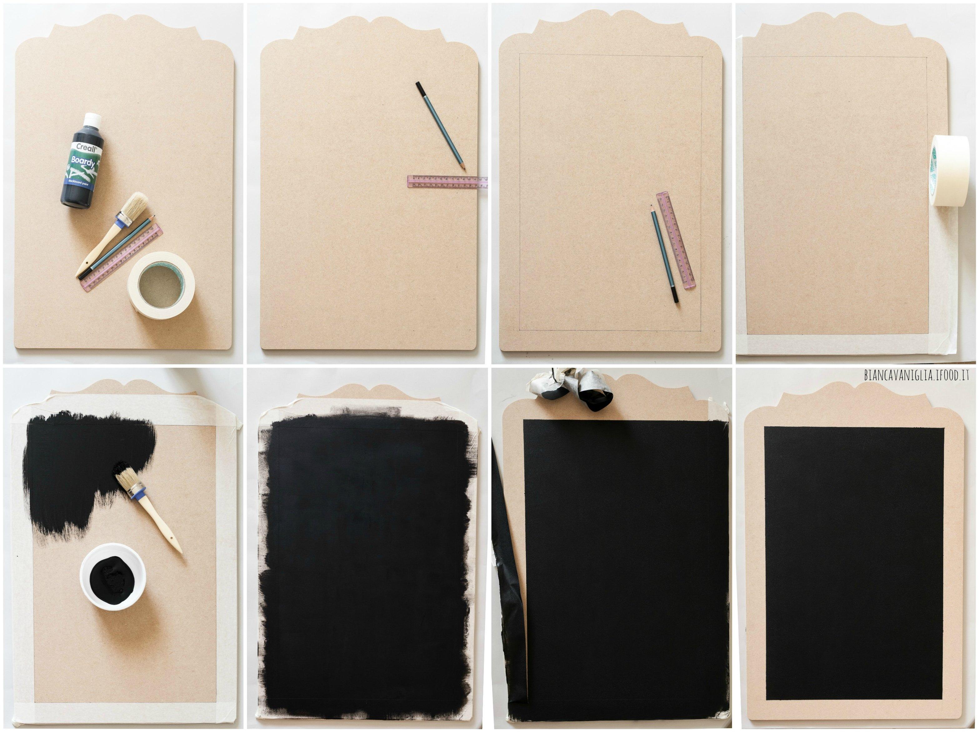Relooker des objets avec de la peinture ardoise 20 - Lavagnette per cucina ...