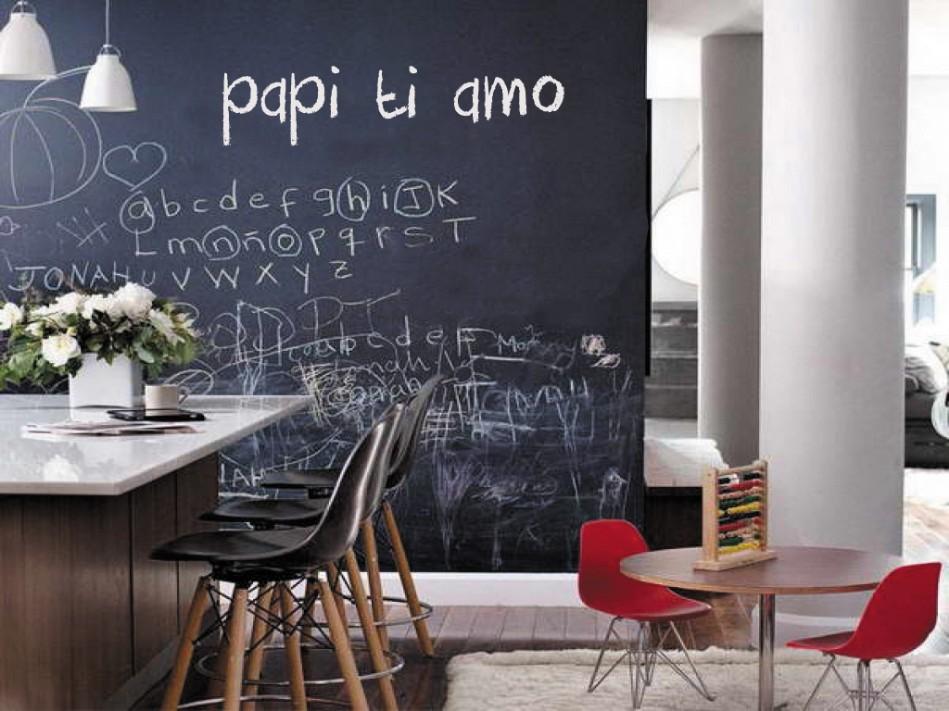 Peindre un mur avec de la peinture ardoise! 20 idées pour vous inspirer...