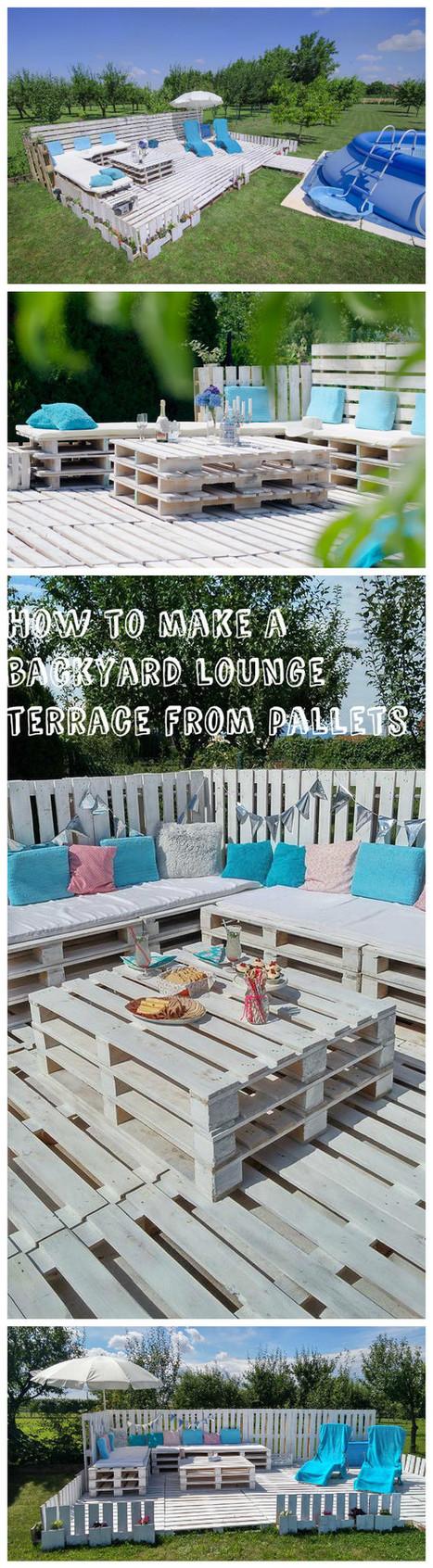 vloeren houten pallets voor de tuin 20 inspirerende ideeà n