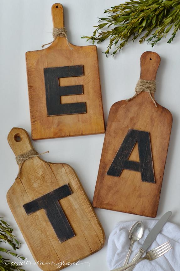 Recycler une vieille planche d couper 20 id es for Vieille planche de bois