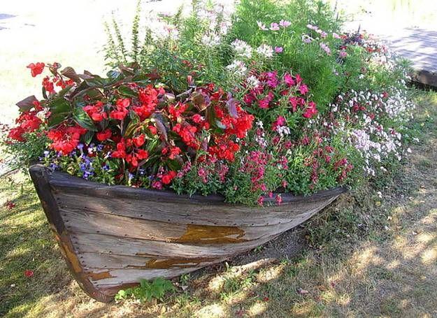 recycler une vieille barque