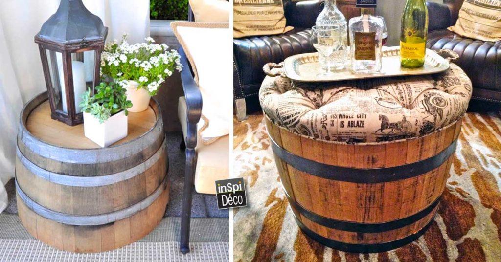 Déco maison récup avec vieux tonneau en bois! 23 idées ...