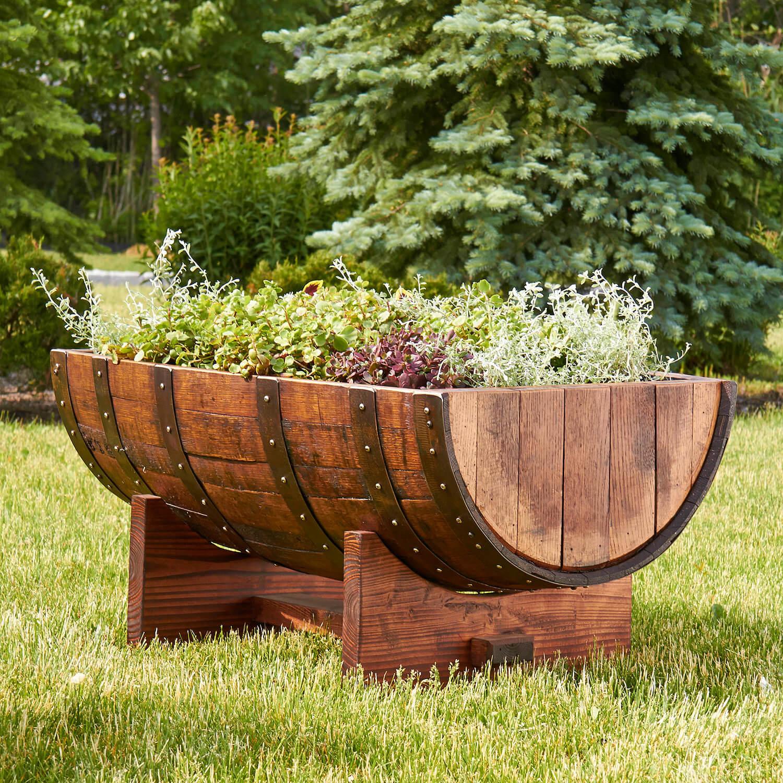 D co maison r cup avec vieux tonneau en bois 23 id es sublimes - Tonneau de vin decoration ...
