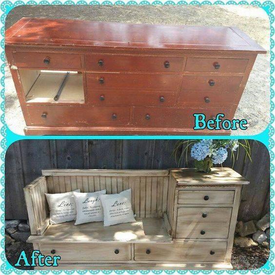 Relooker ses vieux meubles