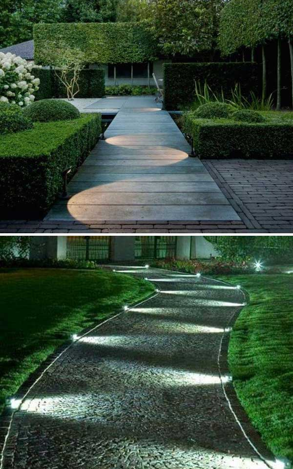 Outdoor Tile Walkway