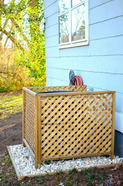 Dissimuler les poubelles dans son jardin