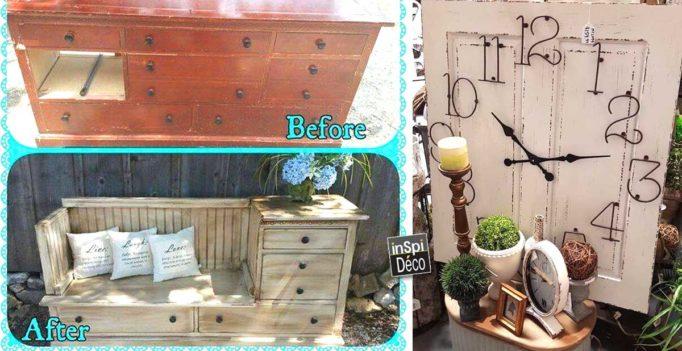 relooker ses vieux meubles 20 exemples magnifique bonne vision. Black Bedroom Furniture Sets. Home Design Ideas