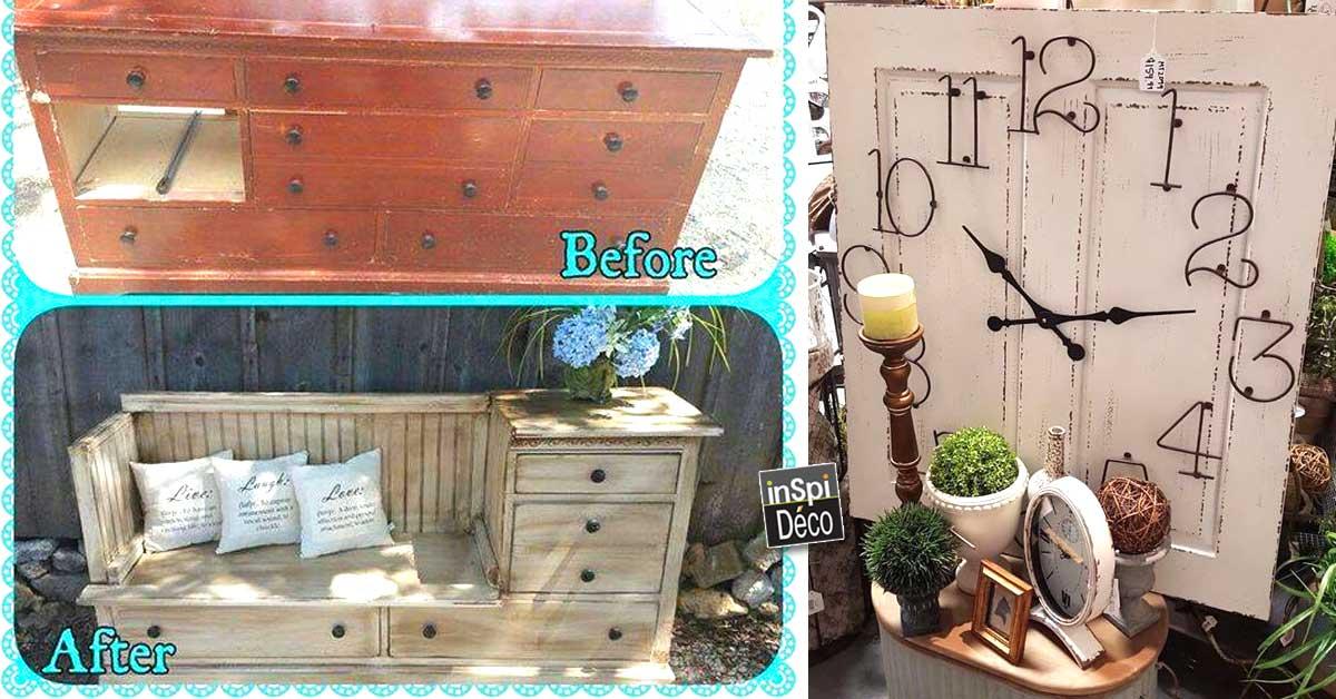 Relooker ses vieux meubles 20 exemples magnifique for Relooker des vieux meubles
