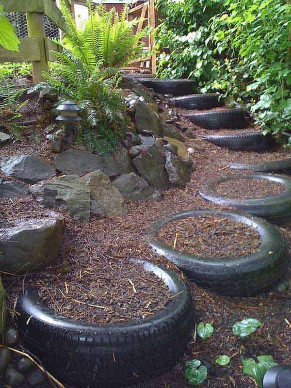 Realizzare Scalini in giardino