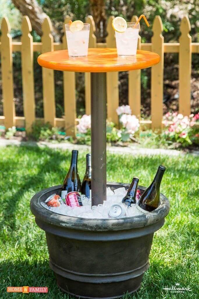 Cr er un mini bar dans le jardin voici 20 id es pour vous for Jardin pour vous