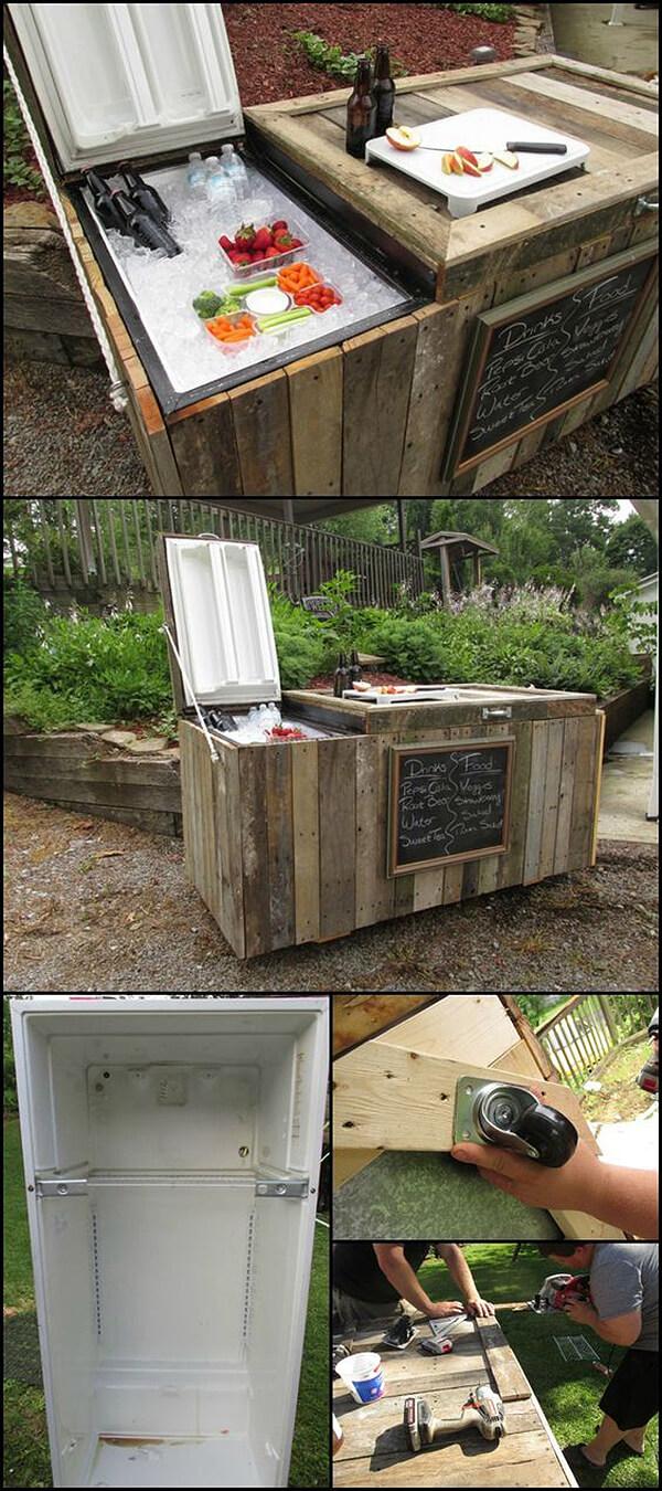 Cr er un mini bar dans le jardin voici 20 id es pour vous for Ouvrir un commerce idee