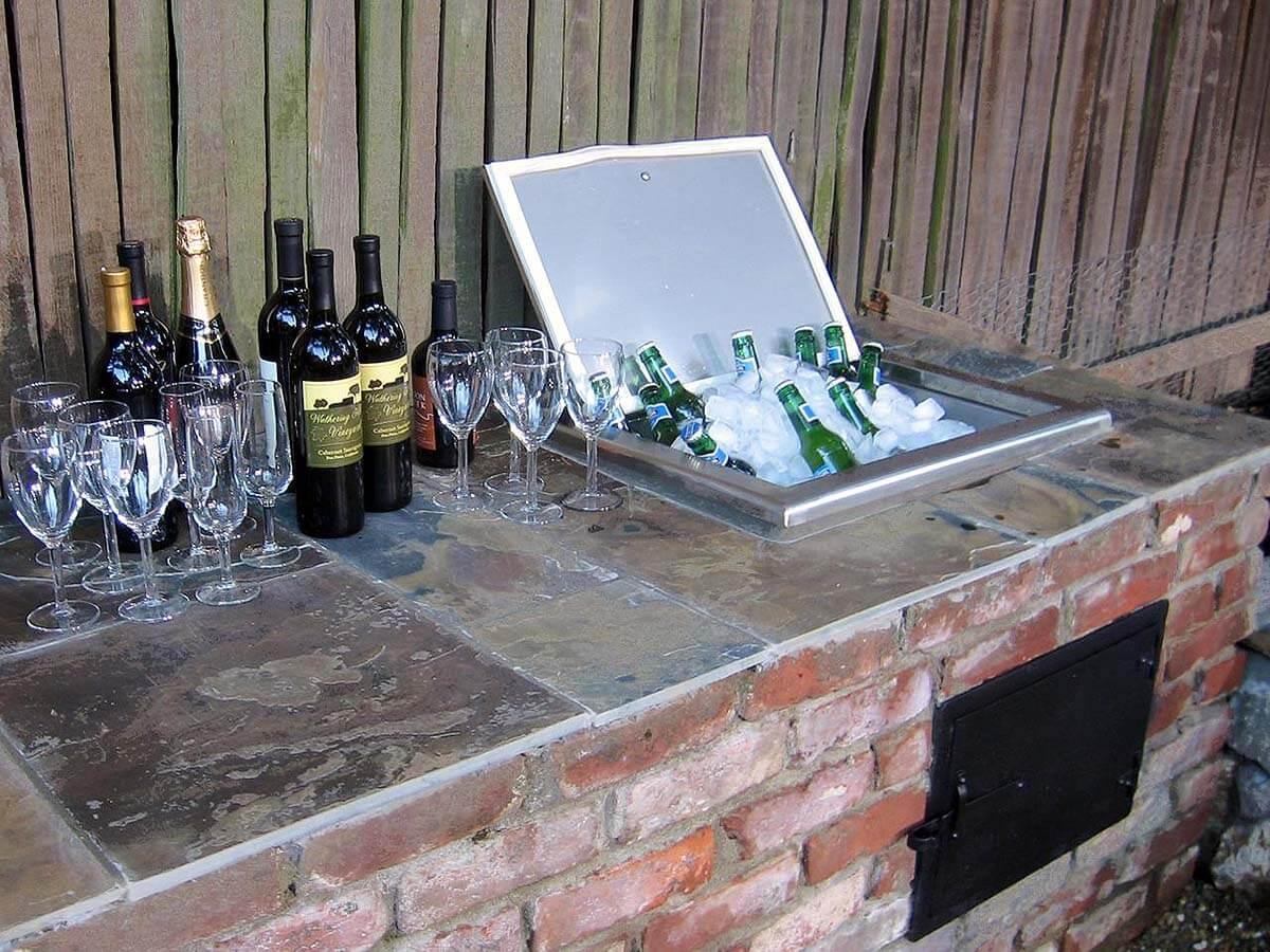 Créer un mini bar dans le jardin