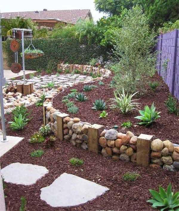 Déco jardin avec pierres et cailloux! Voici 20 idées inspirantes...