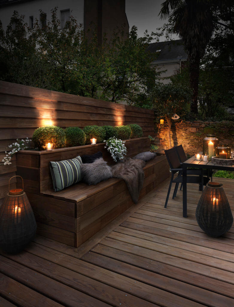 illuminazione giardino fai da te originale 2 - Inspidéco
