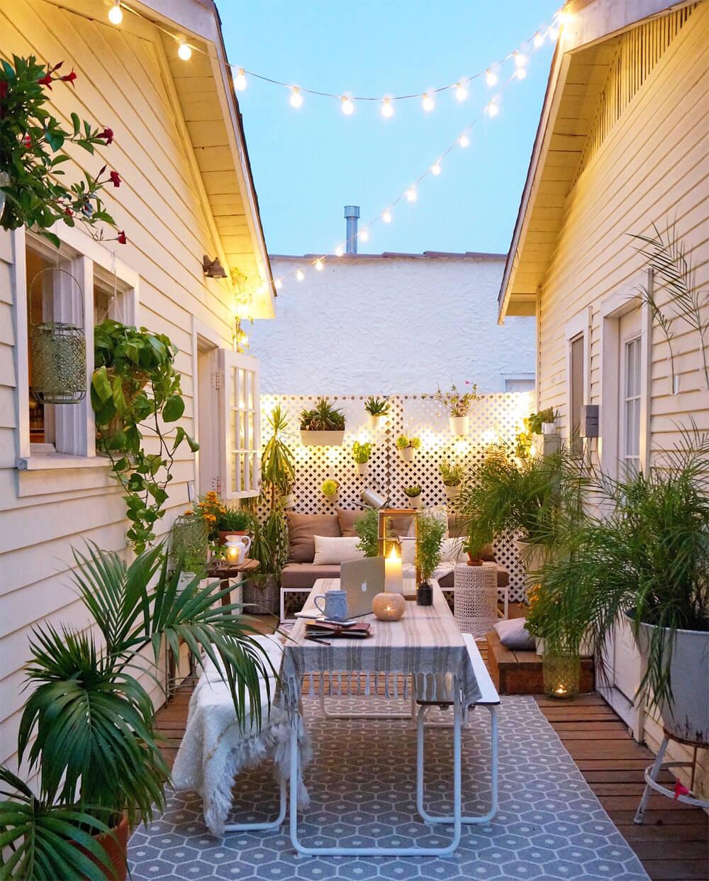 Illuminare il giardino con fantasia