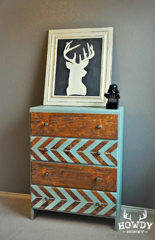 Relooker un vieux meuble