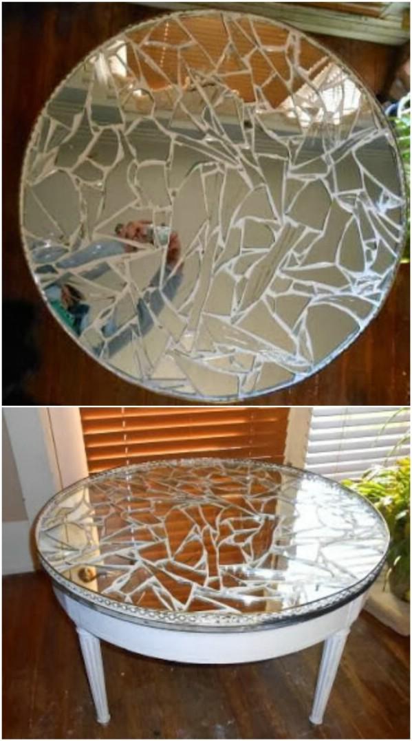 Comment récupérer un miroir cassé