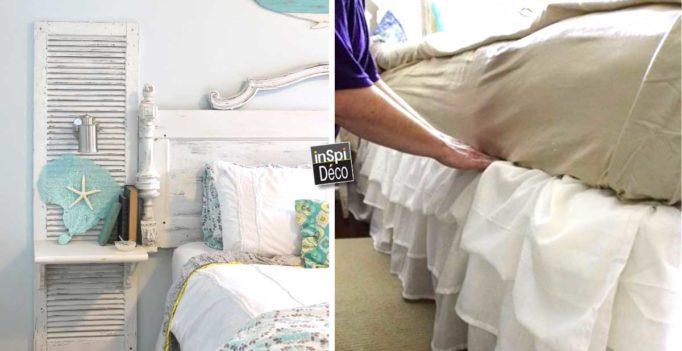 Top Récupérer de vieux volets pour décorer la maison! 20 idées  BW26