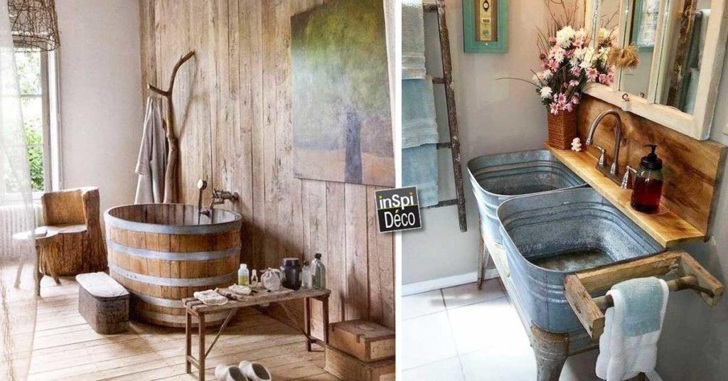 Decorer La Salle De Bain Style Campagne 10 Idees Magnifiques