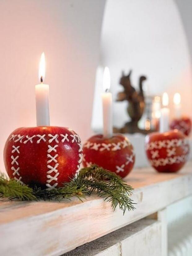 Décorer avec des bougies pour ajouter une touche de style