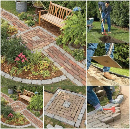 D co avec des briques pour le jardin voici 20 id es for Idee pour le jardin