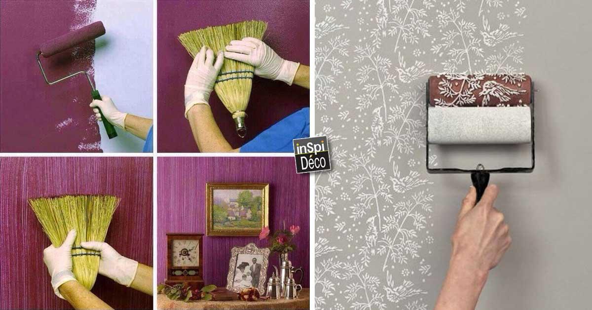 Peinture Déco | 15 Astuces Très Simples Pour Un Effet Original!  Laissez Vous Inspireru2026