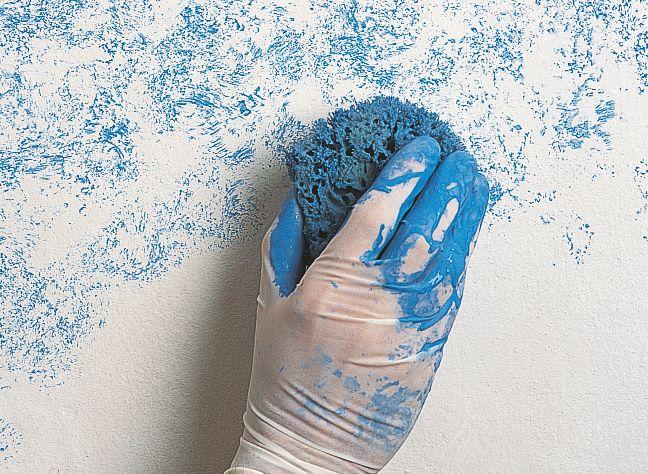 Creare effetti originali con la vernice