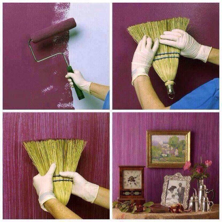 Donner Un Effet Original A Votre Peinture Voici 15 Astuces Tres Simples