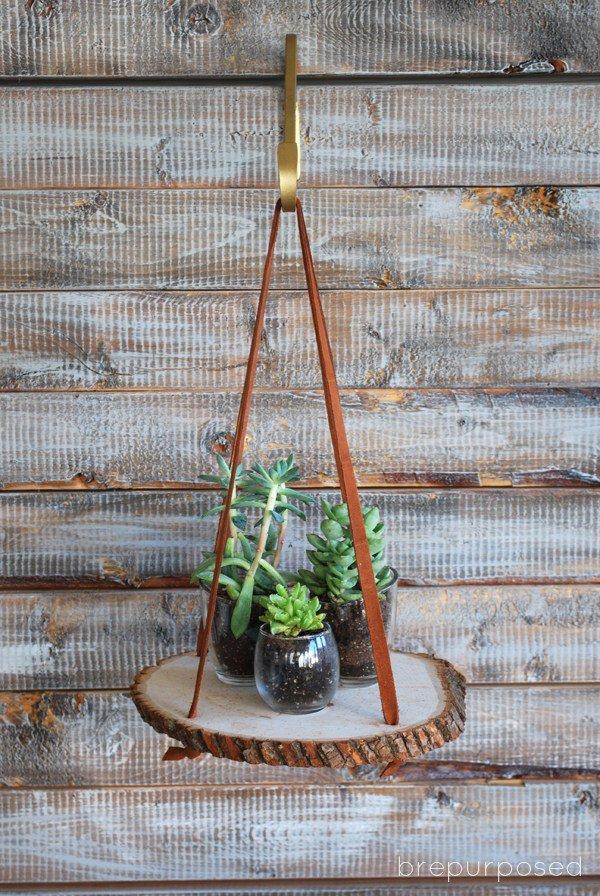 Creare bellissime decorazioni con le rondelle di legno
