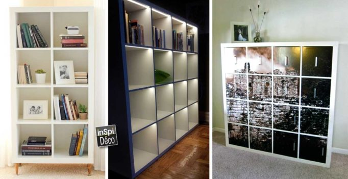 ikea hack avec kallax et expedit de chez ikea 20 id es inspirantes. Black Bedroom Furniture Sets. Home Design Ideas