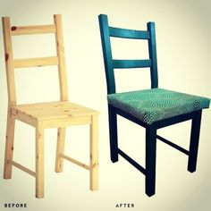 Relooking des chaises IKEA